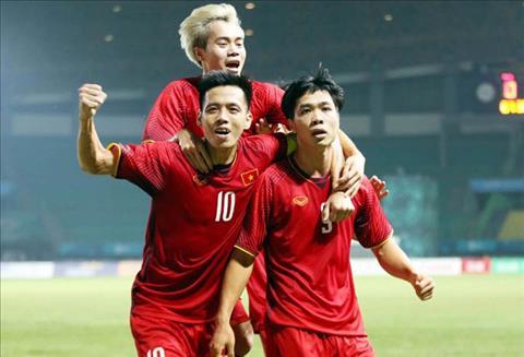 Tiền đạo Công Phượng nói gì về bàn thắng vào lưới Olympic Bahrain hình ảnh