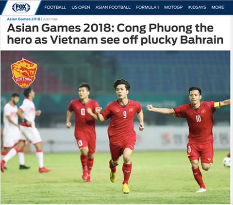 Truyền thông châu Á khen ngợi chiến thắng của Olympic Việt Nam hình ảnh