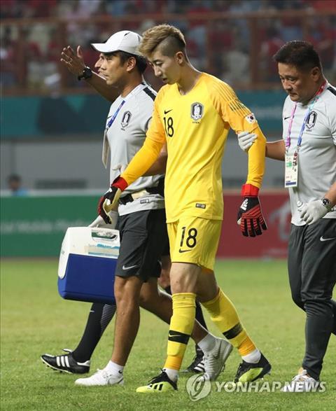 Hàn Quốc thiệt quân khi thủ môn Jo Hyeon-Woo gặp chấn thương hình ảnh