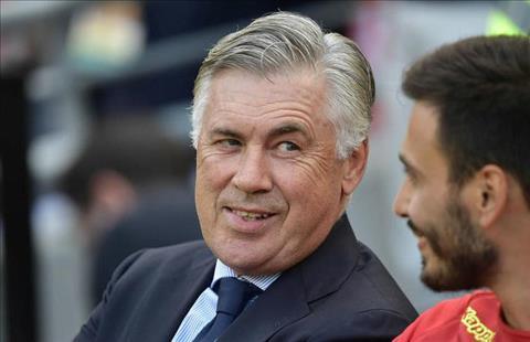 Carlo Ancelotti phát biểu về Napoli đầy tự tin hình ảnh