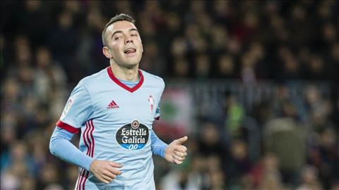 Celta Vigo ban Iago Aspas neu nhan duoc 40 trieu euro