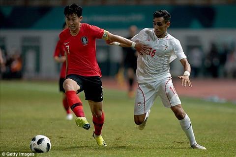 Son Heung-min quyết tâm vô địch ASIAD sau trận thắng Iran hình ảnh