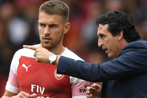 HLV Emery canh cao tien ve Ramsey