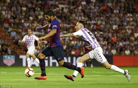 Valladolid 0-1 Barca