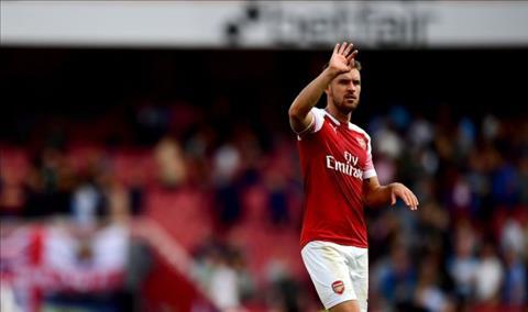 Giờ ra đi đã điểm cho tiền vệ Ramsey của Arsenal hình ảnh