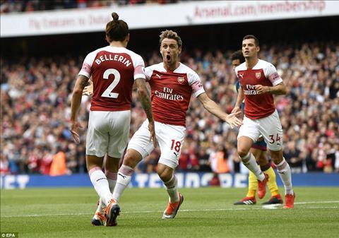Mối quan hệ giữa Mesut Ozil và Unai Emery tại Arsenal hình ảnh
