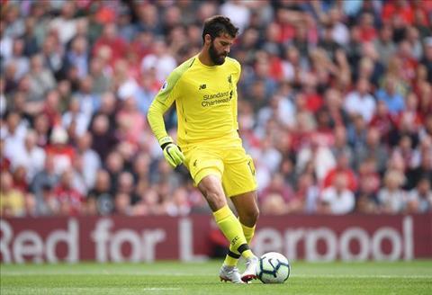 Thủ môn Alisson của Liverpool quyết không từ bỏ lối chơi mạo hiểm hình ảnh