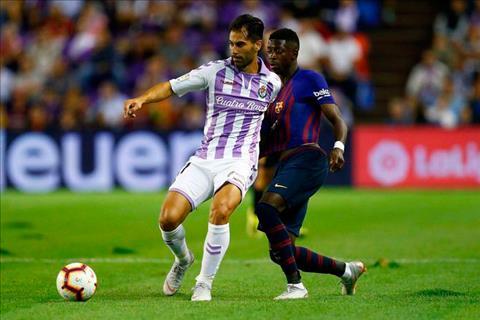 Valladolid 0-1 Barca (Vong 2 La Liga 2018/19)