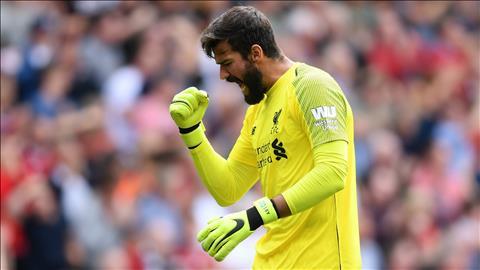 Klopp ca ngợi Alisson sau trận thắng thót tim trước Brighton hình ảnh