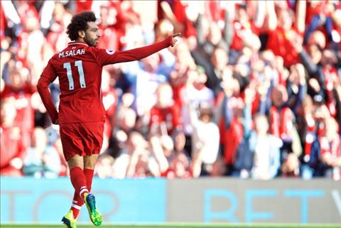 Salah tiep tuc toa sang dem ve chien thang cho Liverpool