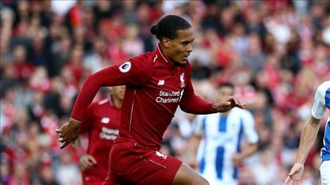 Trung vệ Van Dijk Sự kiên cường đã đem về 3 điểm cho Liverpool hình ảnh