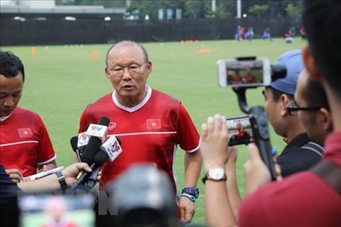 HLV Park Hang Seo nói gì trước trận Olympic Việt Nam vs Syria hình ảnh