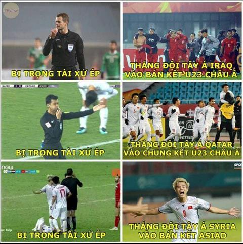 Ảnh chế về chiến công của Olympic Việt Nam sau trận thắng Syria hình ảnh 6
