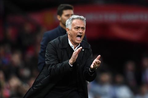 HLV Mourinho that vong