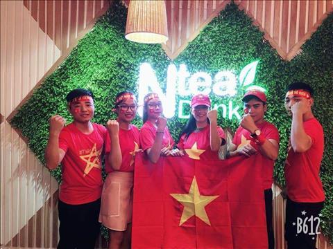 Xuất hiện công ty chiều nhân viên hết nấc để cổ vũ Olympic Việt Nam hình ảnh 2