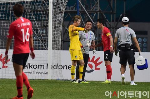 Thủ môn Jo Hyeon-woo khó bắt chính trận gặp Olympic Việt Nam hình ảnh
