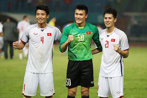 Thủ môn Bùi Tiến Dũng lạc quan trước trận Việt Nam vs Hàn Quốc hình ảnh