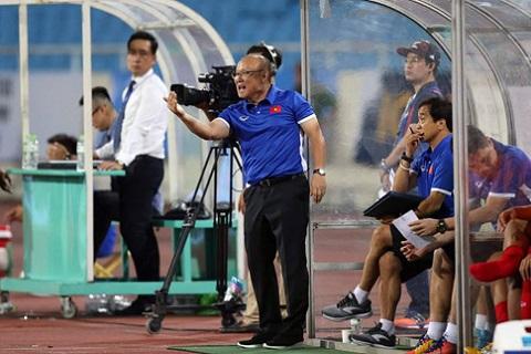 HLV Park Hang Seo chia sẻ sau trận thắng U23 Palestine hình ảnh