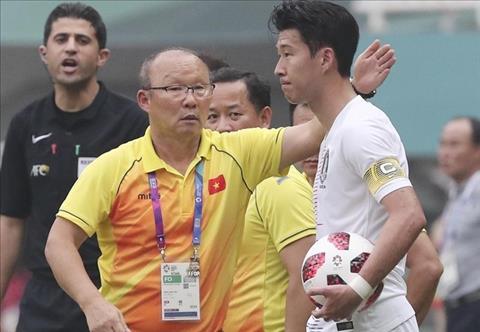 HLV Park Hang Seo so sánh cầu thủ Việt Nam với Hàn Quốc hình ảnh
