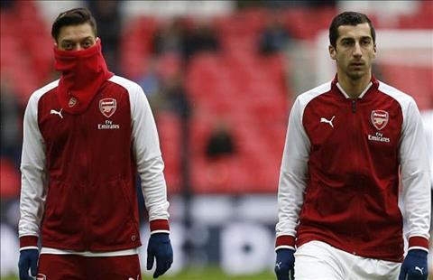 Ozil và Mkhitaryan ở Arsenal không phù hợp với lối chơi của Emery hình ảnh