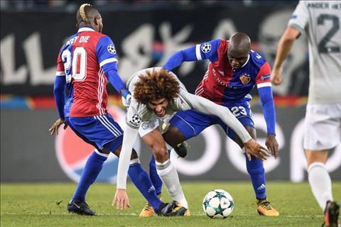Basel vs M.U Fellaini