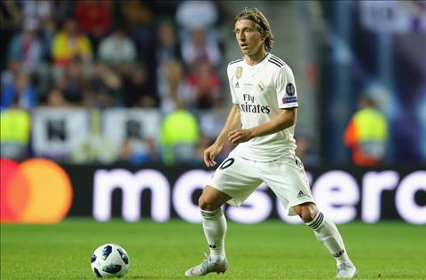Luka Modric tai Real