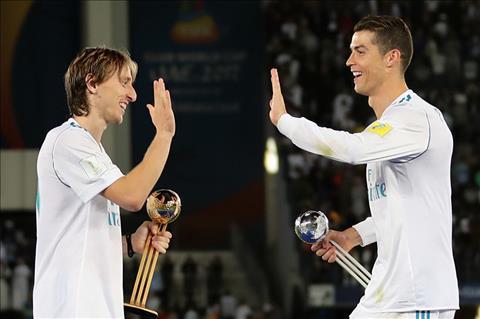 Luka Modric va Ronaldo
