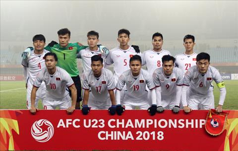 U23 Viet Nam tung gianh ngoi a quan tai VCK U23 chau A 2018.