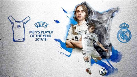 Luka Modric giành danh hiệu Cầu thủ xuất sắc nhất UEFA 201718 hình ảnh