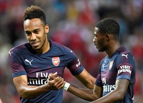 Kết quả Arsenal vs Lazio 2-0 tường thuật giao hữu CLB hè 2018 hình ảnh