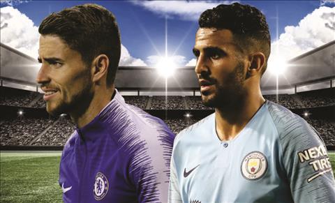 Jorginho vs Mahrez - Chelsea vs Man City Sieu Cup Anh 2018