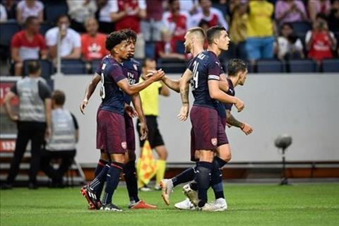 Arsenal 2-0 Lazio (Giao huu CLB he 2018)