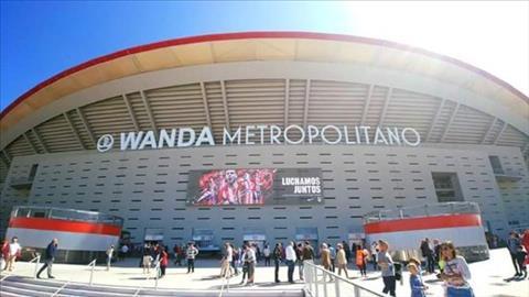 Viec ban ten san Wanda Metropolitano giup Atletico Madrid tran thu duoc mot khoan tai chinh khong nho.