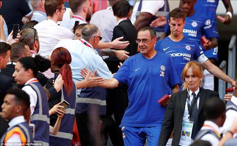 Maurizio Sarri phát biểu về tương lai Chelsea hình ảnh
