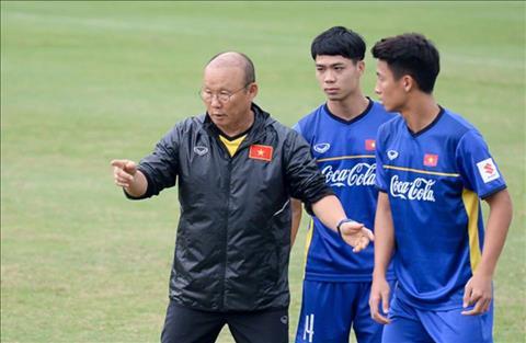 HLV Park Hang Seo và bài toán khó về nhân sự tại AFF Cup 2018 hình ảnh