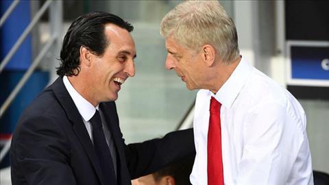 Wenger khen ngợi tân HLV Emery của Arsenal về khả năng phòng ngự hình ảnh