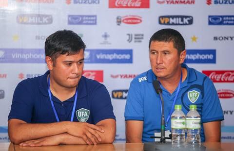 HLV U23 Uzbekistan nói gì sau trận hòa trước U23 Việt Nam hình ảnh