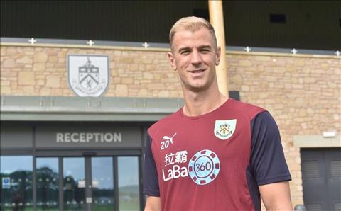 Joe Hart den Burnley