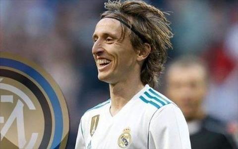 Luka Modric tính rời Real sang Inter Milan hình ảnh