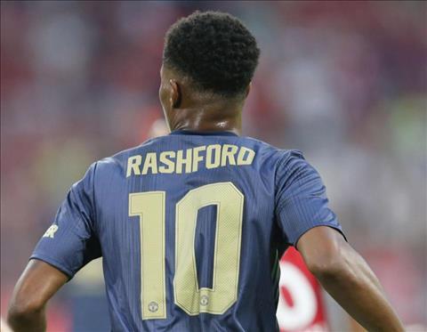 Ly do Marcus Rashford mang ao so 10 cua Man Utd duoc Mourinho tiet lo.