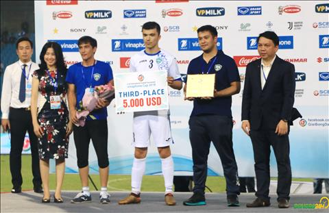 Hình ảnh ngày ĐT Olympic Việt Nam vô địch giải tứ hùng quốc tế hình ảnh