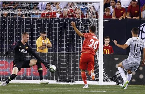 Real vs Roma Asensio ghi ban
