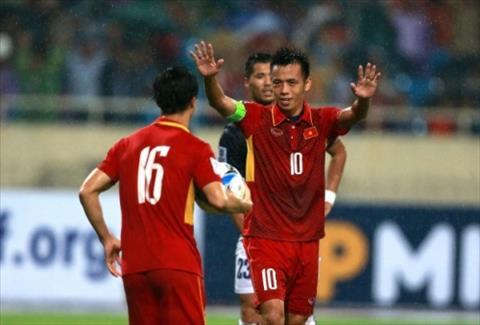 Văn Quyết nắm giữ băng thủ quân của ĐT Olympic Việt Nam hình ảnh