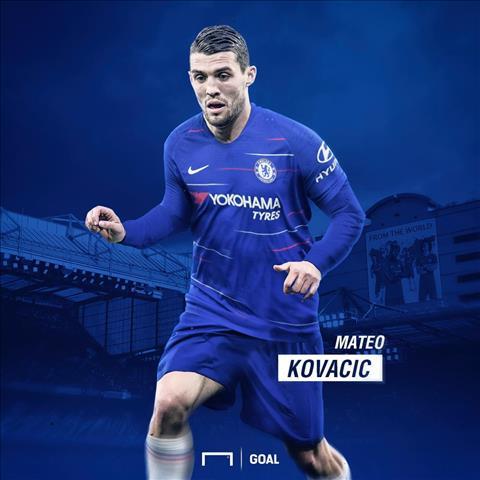 Kovacic se khoac ao Chelsea mua 2018-19