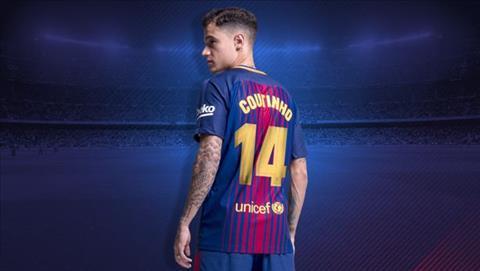 Philippe Coutinho khoác áo số 7 ở Barca hình ảnh