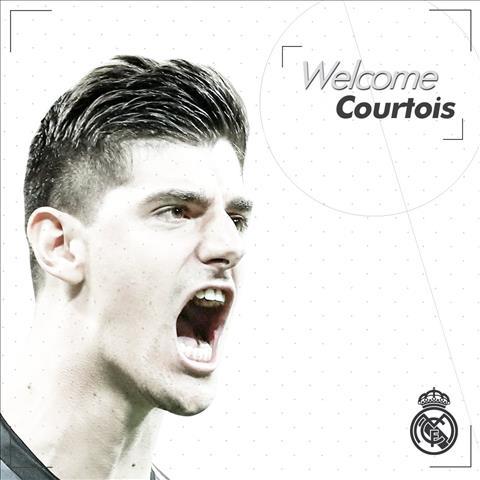 Thủ môn Courtois chính thức đến Real Madrid sau khi rời Chelsea hình ảnh