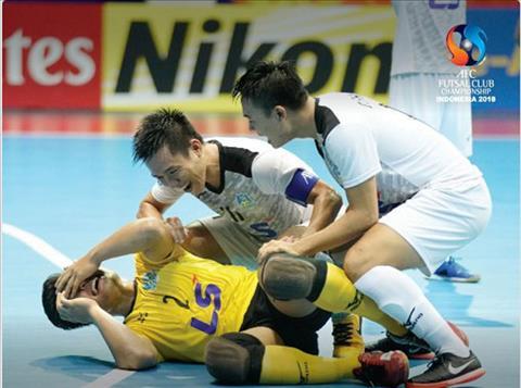CLB Thái Sơn Nam lập kỳ tích ở giải vô địch Futsal châu Á 2018 hình ảnh