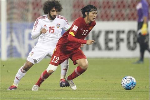 Olympic Việt Nam đấu Olympic UAE Tiếc cho Tuấn Anh! hình ảnh 2