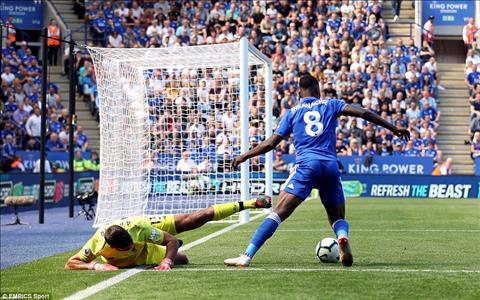 Thủ môn Alisson chia sẻ sau sai lầm trước Leicester hình ảnh