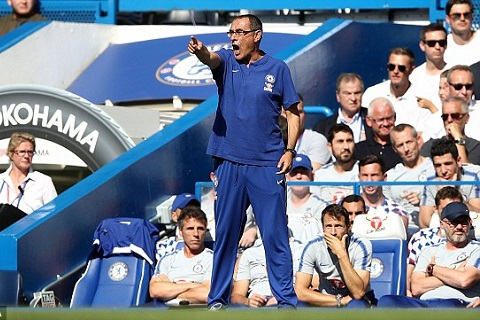 Sarri vs Bournemouth